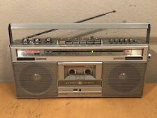 General Electric Boombox Mini Vintage Radio Cassette Recorder