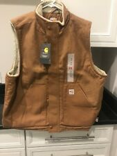 NWT Carhartt FR SHERPA LINED Vest LARGE NEW!!!!!!