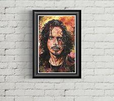 Chris Cornell / Soundgarden / Audioslave - Fine art print / poster