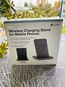 New in Box Ubio Labs Wireless Charging Stand Phone Charge for Mobile Phones