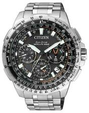 Citizen CC9020-54E Silver Titanium Eco-Drive GPS Wrist Watch for Men
