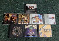 Vintage Japanese Import PlayStation 1 Game Lot 8 Rare PS1 Japan Import Videogame