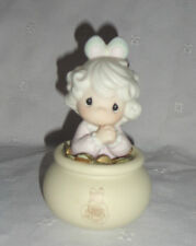 """1994 You Are The End Of My Rainbow Little Girl in Pot of Gold Figurine 5.5"""""""