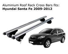 Aluminium Roof Rack Cross Bars fits Hyundai Santa Fe 2009-2012