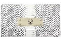 Guess Women's Kyra Slim Python Tri-Fold Clutch Wallet