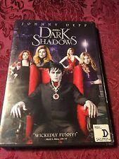 Tim Burton's Dark Shadows (2012 Dvd) Johnny Depp Michelle Pfeiffer Ships Now!