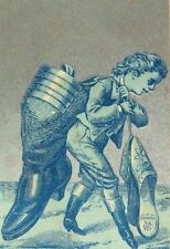 1883 B. Alexander The Great Bankrupt Boot & Shoe Store Boy & Giant Shoes P66