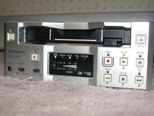 PANASONIC AG-DV2500P MINI DV DVCAM VCR DECK NTSC/PAL WORK GREAT LOW HOUR OF USE