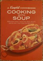 Cambell Cookbook - Cooking With Soup - 608 Recipes Spiral Bound Vintage
