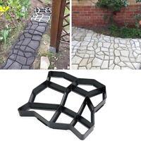 Reusable Path Floor Mould DIY Path Maker Garden Lawn Paving Concrete Mold K8Ht