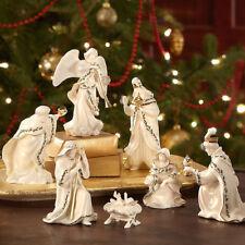 Holiday 7-piece Mini Nativity Set by Lenox