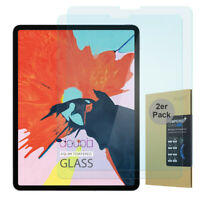 "2x 9H Hartglas iPad Pro 12,9"" 2018 2020 HD Panzer Display Schutz Glas Folie"