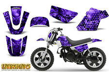 YAMAHA PW50 CREATORX GRAPHICS KIT DECALS INFERNO PURPLE