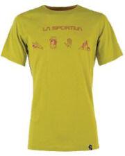 La Sportiva Essentials Tee (M) Citronelle / Flame
