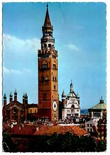 Cremona Italy Postcard The Tower Torrazzo Posted 1981