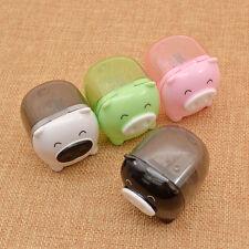 2pcs Mini Cartoon Pig Piggy Pencil Sharpener Kids Kawai Stationary Gift Lovely