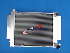 Aluminum Radiator for MAZDA RX2 RX3 RX4 RX5 RX7 69-83 S1 S2 with heater hose MT