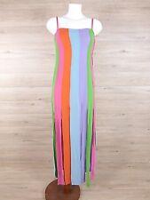 Gai Mattiolo Damen Kleid in Gr. 38  M  Reine Seide Mehrfarbig  Sehr Gut  (B0444)