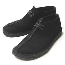 Clarks Desert Trek Suede 60644170 UK8(US9/27cm) black Leather moccasins shoes