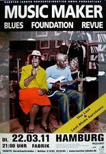 MUSIC MAKER BLUES FOUNDATION REVUE - 2011 - Konzertplakat - Poster - Hamburg