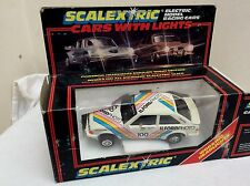 Scalextric  1/32 Slot Car -  C389 Ford Escort XR3  ILFORD PHOTOS      BOXED