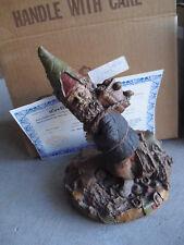 "Tom Clark Figurine Cairn Blackie Gnome Figurine Ed 29 Signed Box & Coa 8 1/2"" T"