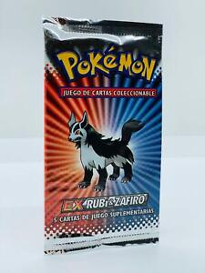 Pokemon!! EX Rubin & Saphir Booster! NEU&OVP! Spanisch!