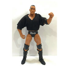 WWF WWE Elite 47.5 The Rock & Shirt Wrestling Action Figure Kid Child Toy