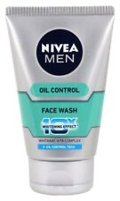 Nivea Men Oil Control Skin Face Wash (10X whitening), 100gm + Free Shipping