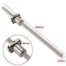 Reversibile Vite e chiocciola A Ricircolo di sfere BallScrews SFU1204 L300mm
