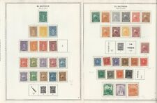 Salvador Collection 1867-1963 on 70 Minkus Specialty Pages, One-Sided Pages