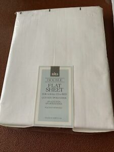 Double Bed Flat Sheet Cotton & Polyester, BHS