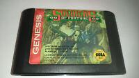 Genuine Soldiers of Fortune (The Chaos Engine) Sega Genesis Game Cart *NTSC-U*