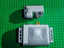 LEGO TECHNIC POWER FUNCTIONS NEW SERVO MOTOR PART No: 6045395 + BATTERY BOX