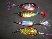 UNIQUE 18GR SPOON FISHING LURE FOR MACKEREL BASS COD POLLACK EVEN PIKE