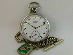 orologio da tasca  funzionante LONGINES pocket watch working B114
