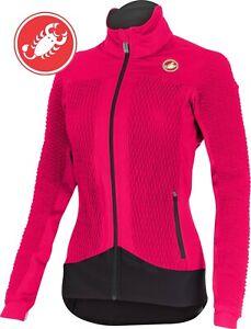 Castelli Women's Elemento 2 7x(air) Cycling Jacket PINK Size Small MASSIVE SALE