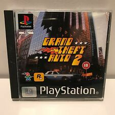 PS1 Playstation1 Grand theft auto 2 complete with map!! HTF