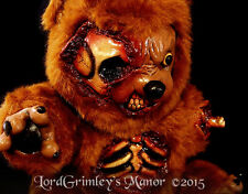 Undead Plush Bad Teddy Bear Halloween Prop Stuffed Horror Monster