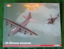 CORGI AVIATION ARCHIVE LOCKHEED HERCULES REFUELER & HELICOPTER 1/144 #AA99176