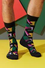Bonnie Doon Socken 3D Socken 3D Cubes Sock Gr. 40-46  glatte Zehennaht  NEU