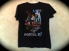 Portal 2 Aperture Laboratories T-Shirt Playstation Xbox Lara Croft Videogame PC
