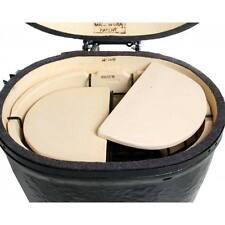 New in Box Ceramic Heat Reflector Plates for Primo Oval Junior Grills Pr-325