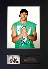 #526 ASHLEY. BANJO Signature/Autograph Mounted Signed Photograph A4