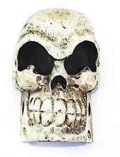 Skull Totenkopfschädel Skull Skull Figurine Decorative Wooden Gothic Hand Carved