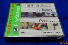 PS1 - Final Fantasy Chronicles FF IV & Chrono Trigger ~ Brand New Sealed Game GH