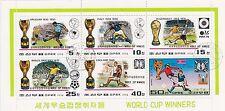 (74837) Korea CTO Football World Cup Winners Minisheet 1978
