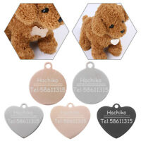 Dog Collar Customized Pet ID Tag Personalized Name Tag For Puppy New
