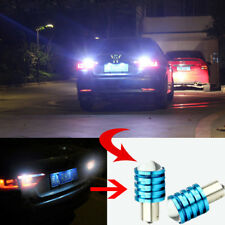2x 1156 BA15S 7W P21W High Power DC12V CREE Q5 LED Car Bulbs White Reverse Light