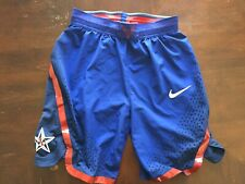 Nike Team Usa Olympic Basketball Shorts Dri Fit Medium M Rio Olympics